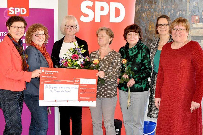 10. Thüringer Frauenpreis geht an Undine Zachlot (Erfurt) und Angelika Männel (Greiz)