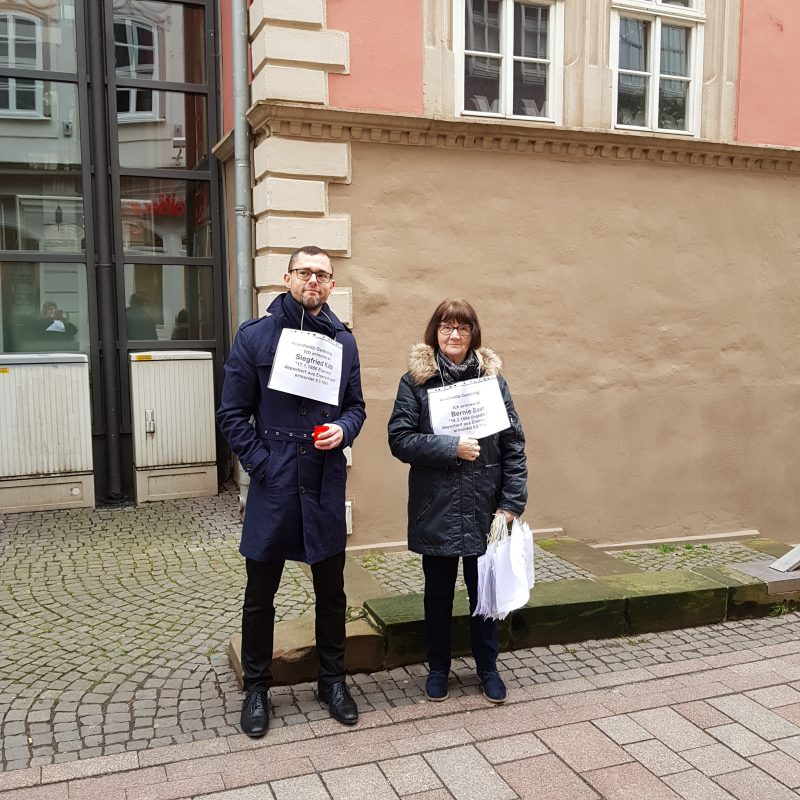 Eisenacher gedenken den Opfern des Holocaust