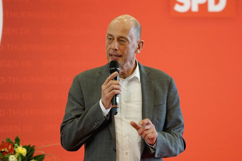 SPD Thüringen wählt Wolfgang Tiefensee zum neuen Vorsitzenden